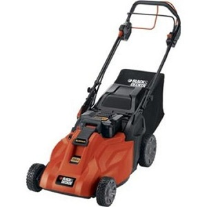 Black & Decker SPCM1936 Cordless Electric Self-Propelled Lawn Mower
