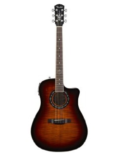 Fender T-BUCKET-300CE Dreadnought Acoustic-Electric Guitar